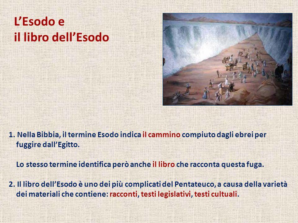 L'Esodo e il libro dell'Esodo