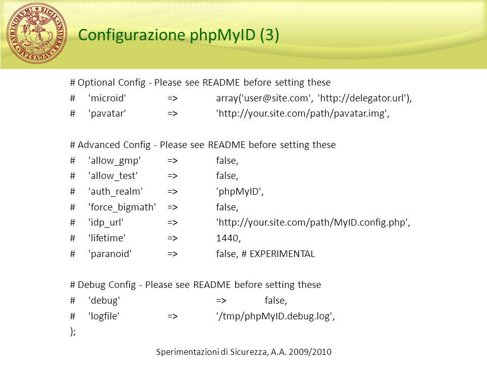 Configurazione phpMyID (3)