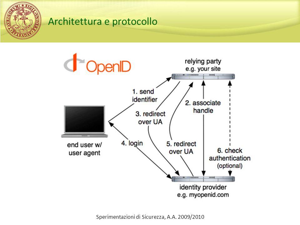 Architettura e protocollo