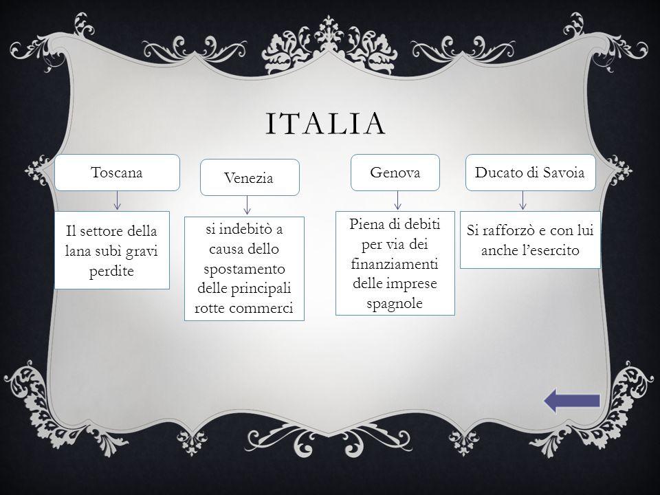 Italia Toscana Genova Ducato di Savoia Venezia