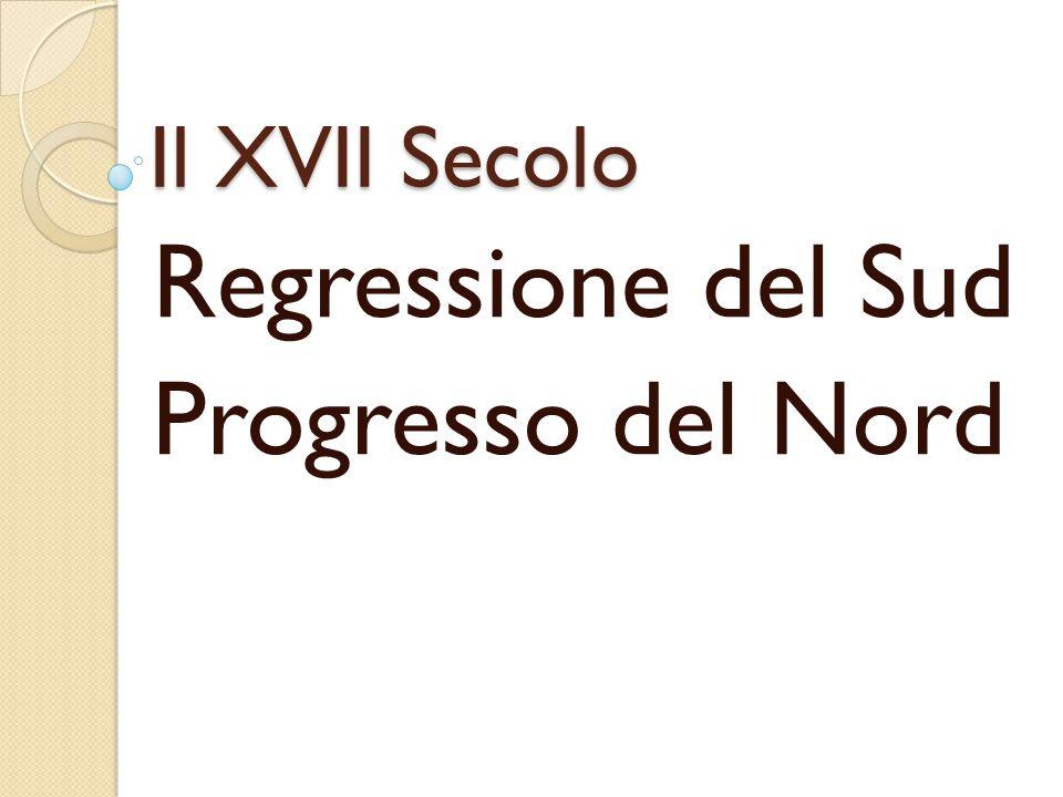 Regressione del Sud Progresso del Nord