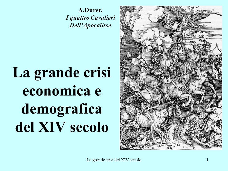 La grande crisi economica e demografica del XIV secolo