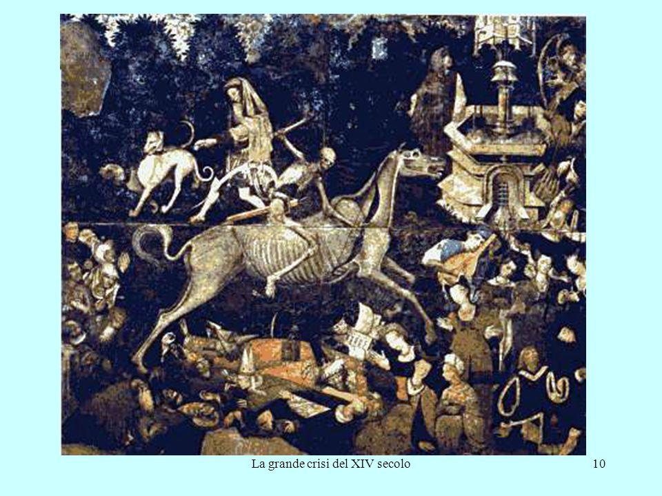 La grande crisi del XIV secolo