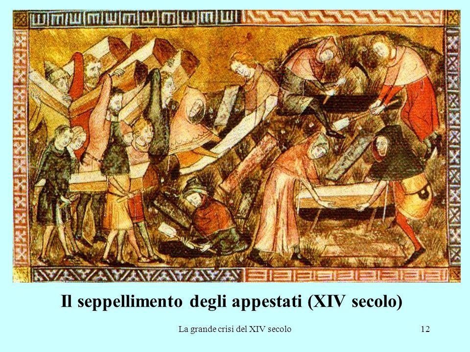 Il seppellimento degli appestati (XIV secolo)