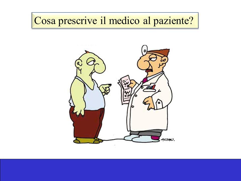 Cosa prescrive il medico al paziente