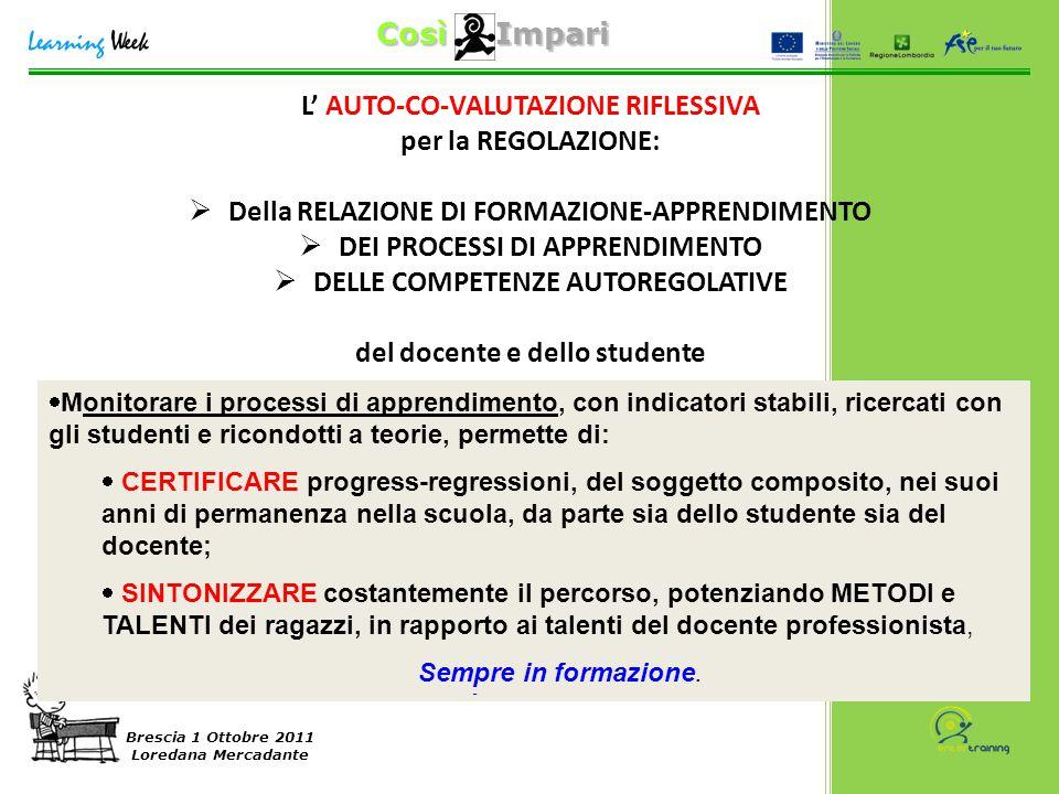 Brescia 1 Ottobre 2011 Loredana Mercadante