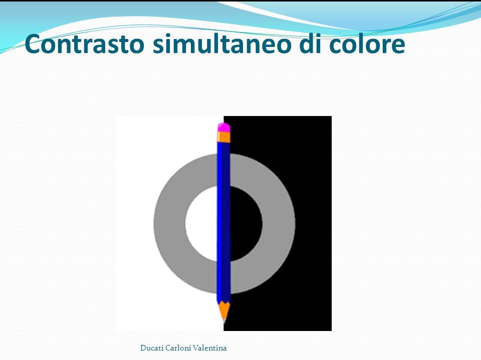 Contrasto simultaneo di colore