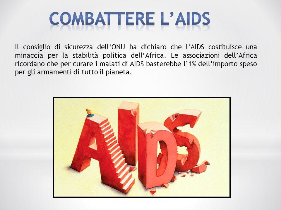 COMBATTERE L'AIDS