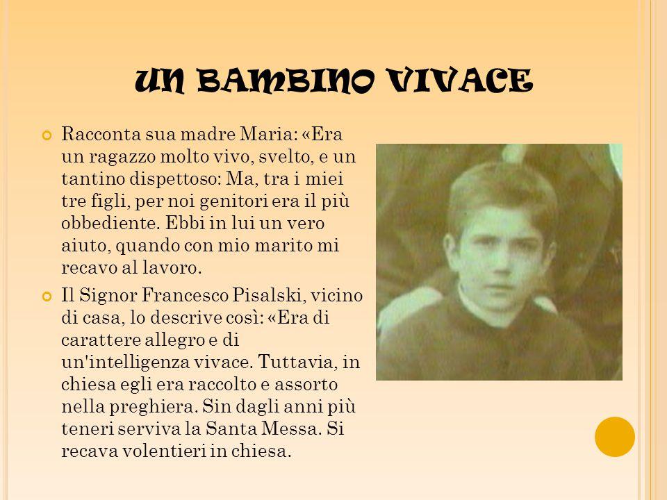 UN BAMBINO VIVACE