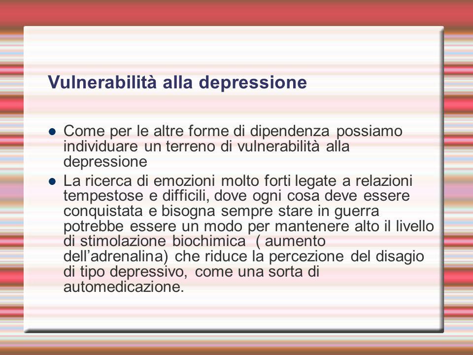 Vulnerabilità alla depressione
