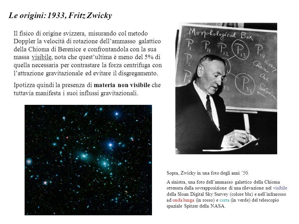 Le origini: 1933, Fritz Zwicky