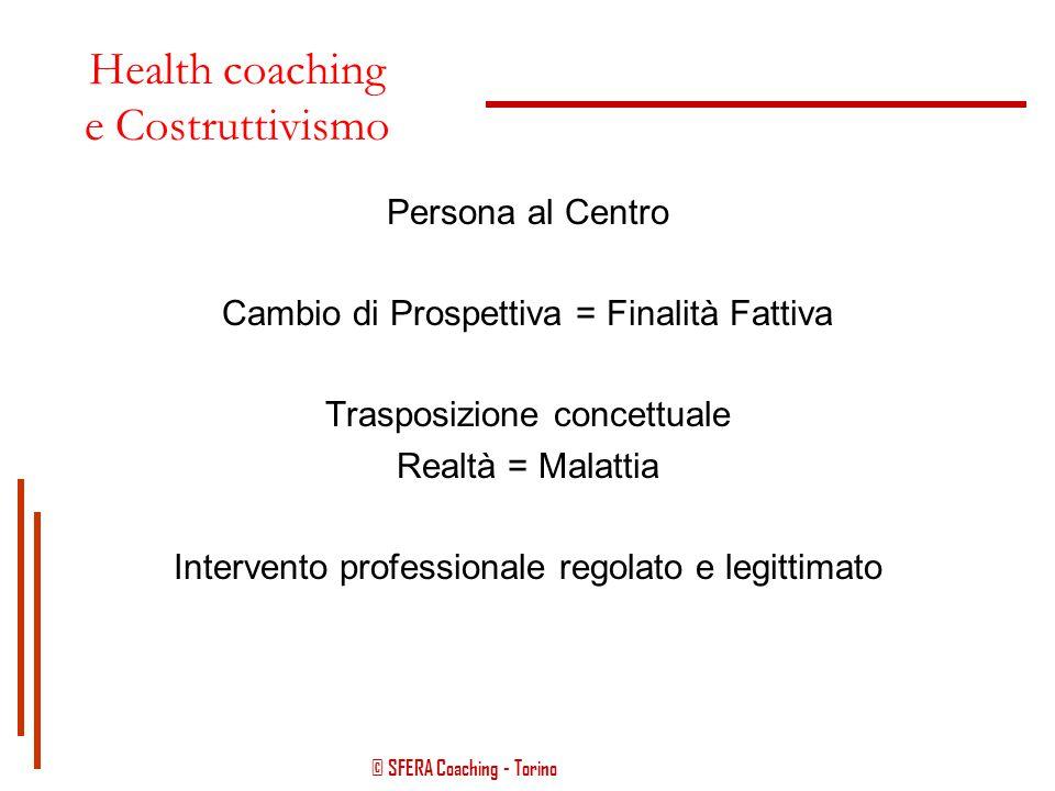 Health coaching e Costruttivismo