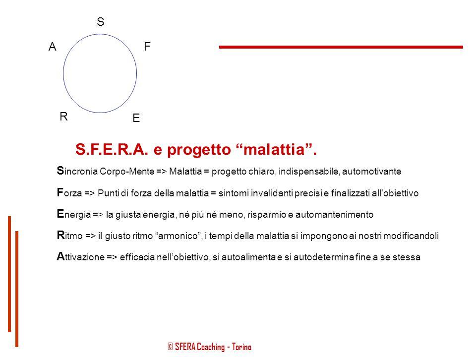 S.F.E.R.A. e progetto malattia .