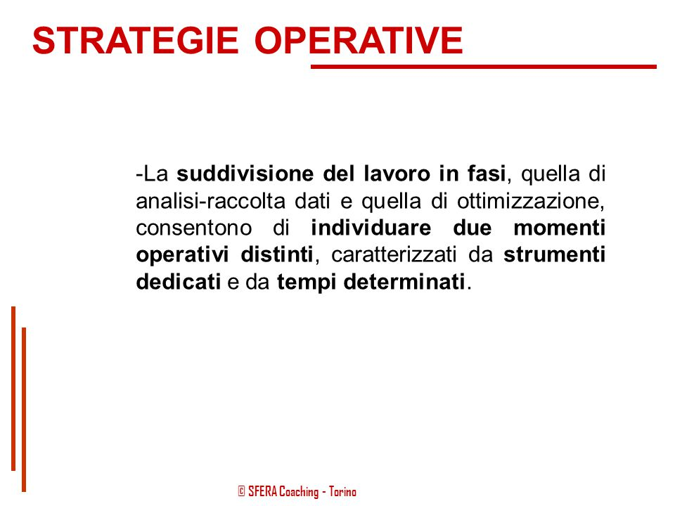 STRATEGIE OPERATIVE