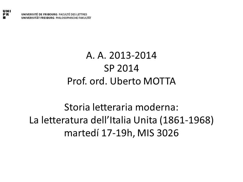A. A. 2013-2014 SP 2014 Prof. ord.