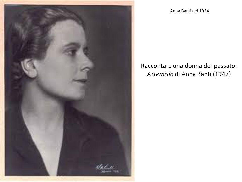 Raccontare una donna del passato: Artemisia di Anna Banti (1947)