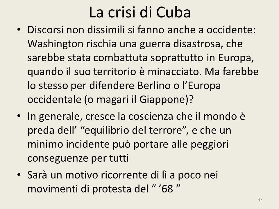 La crisi di Cuba
