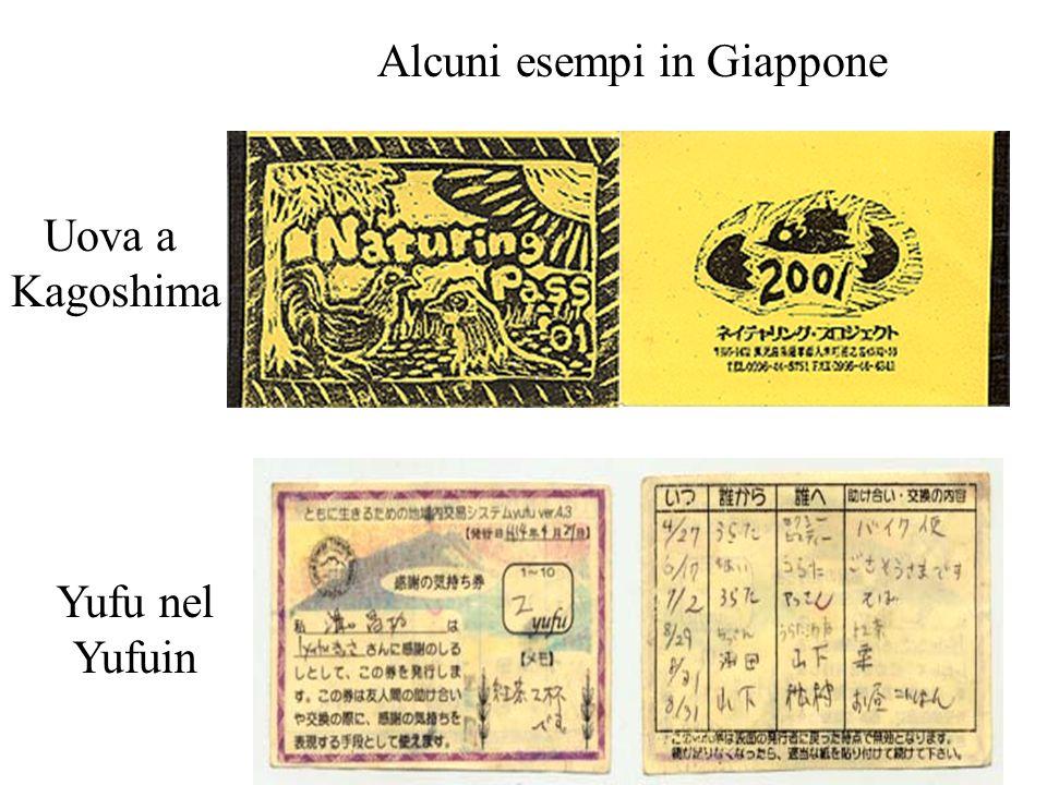 Alcuni esempi in Giappone