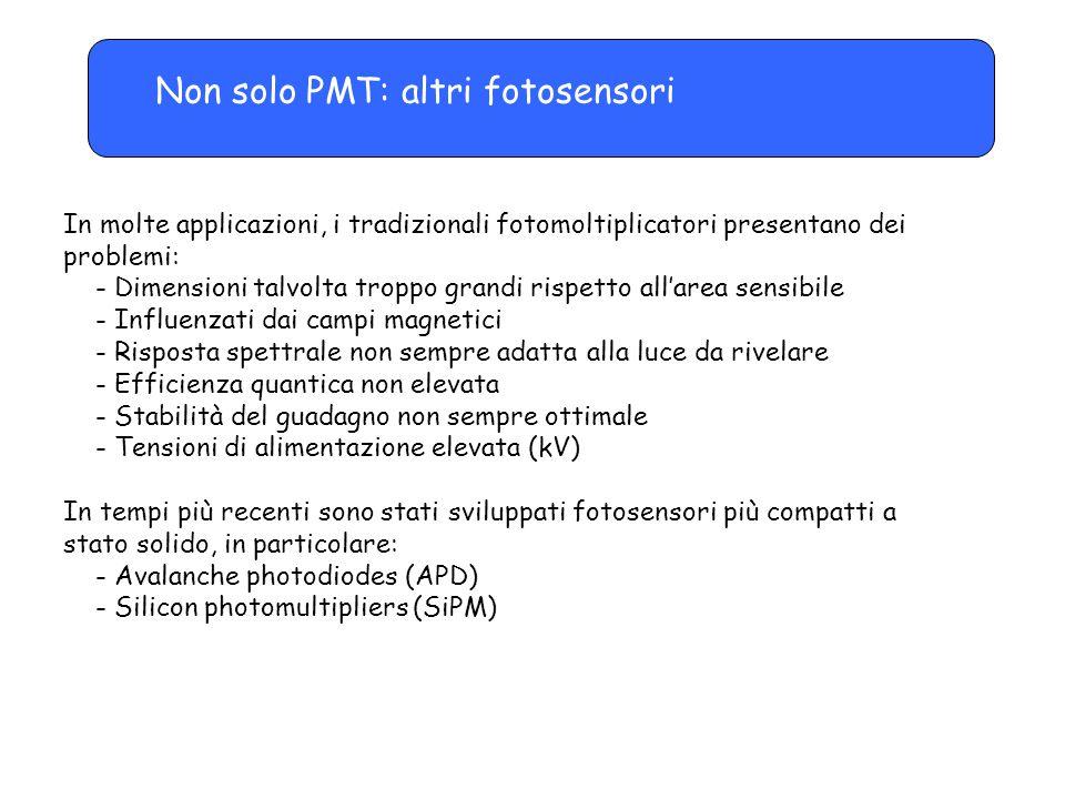 Non solo PMT: altri fotosensori