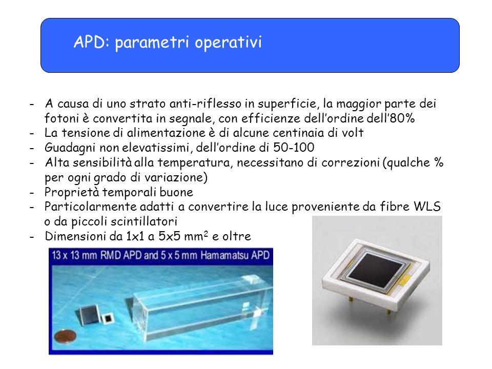 APD: parametri operativi