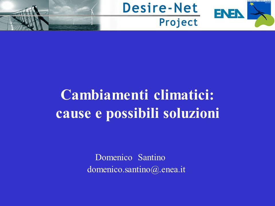 Cambiamenti climatici: cause e possibili soluzioni