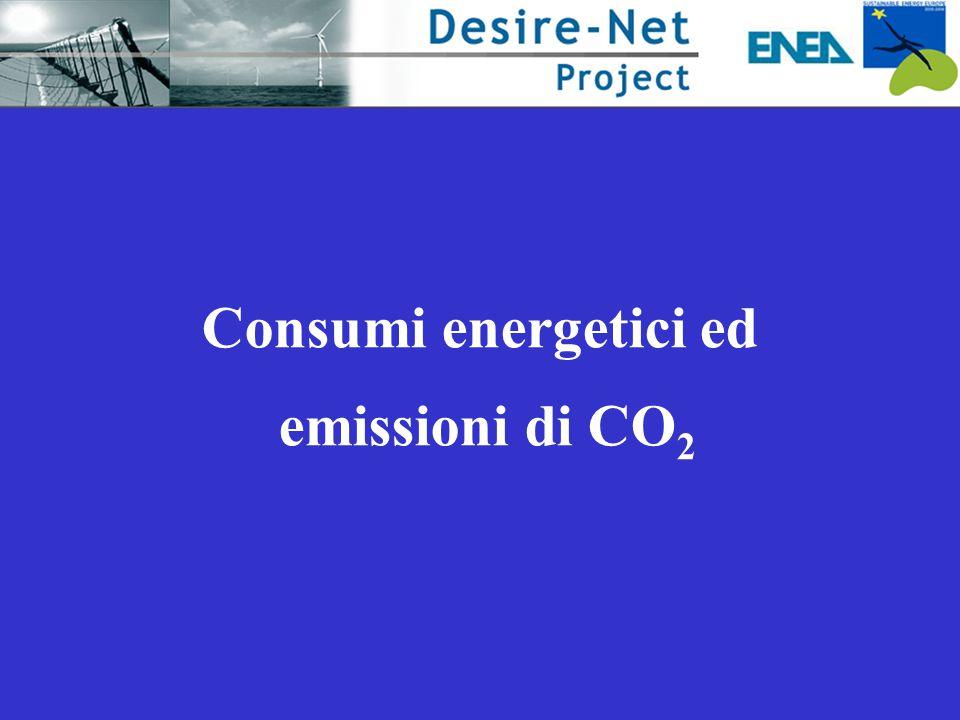 Consumi energetici ed emissioni di CO2