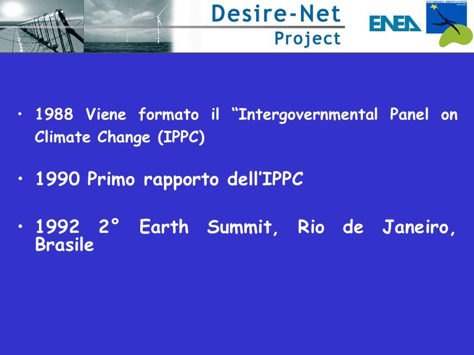1990 Primo rapporto dell'IPPC
