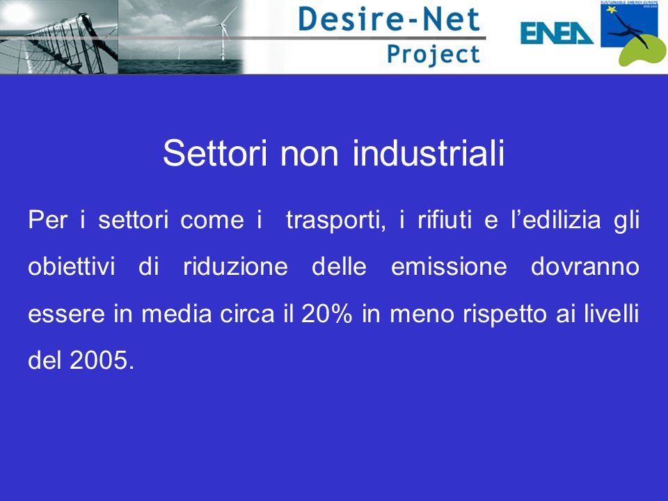 Settori non industriali