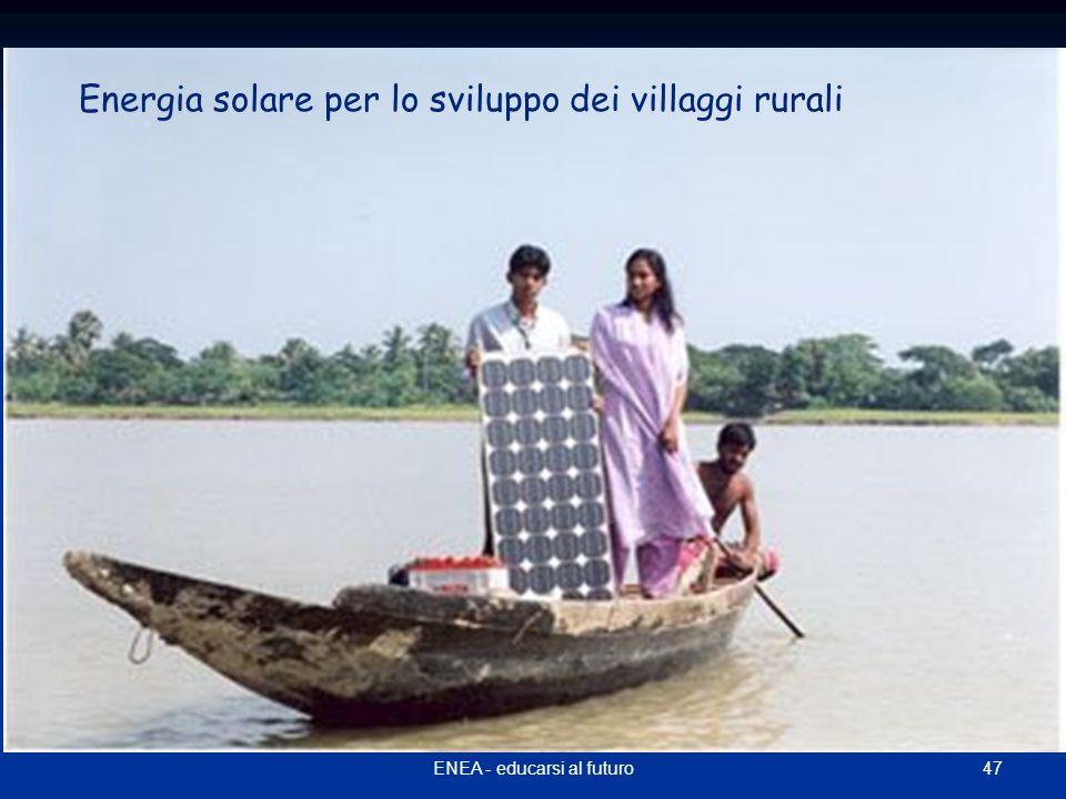 Energia solare per lo sviluppo dei villaggi rurali