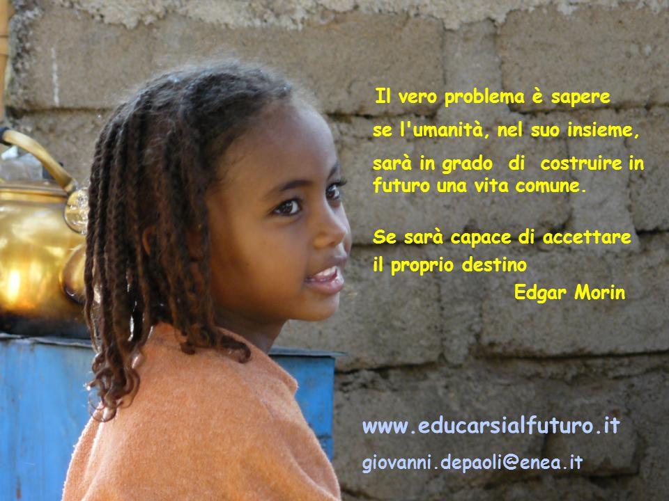 www.educarsialfuturo.it se l umanità, nel suo insieme,