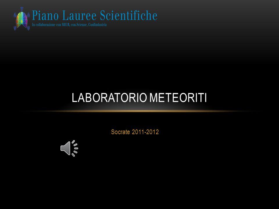 Laboratorio meteoriti