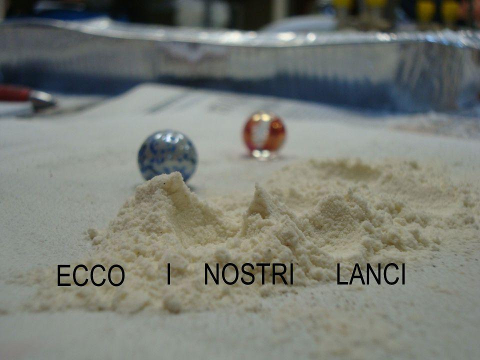 ECCO I NOSTRI LANCI