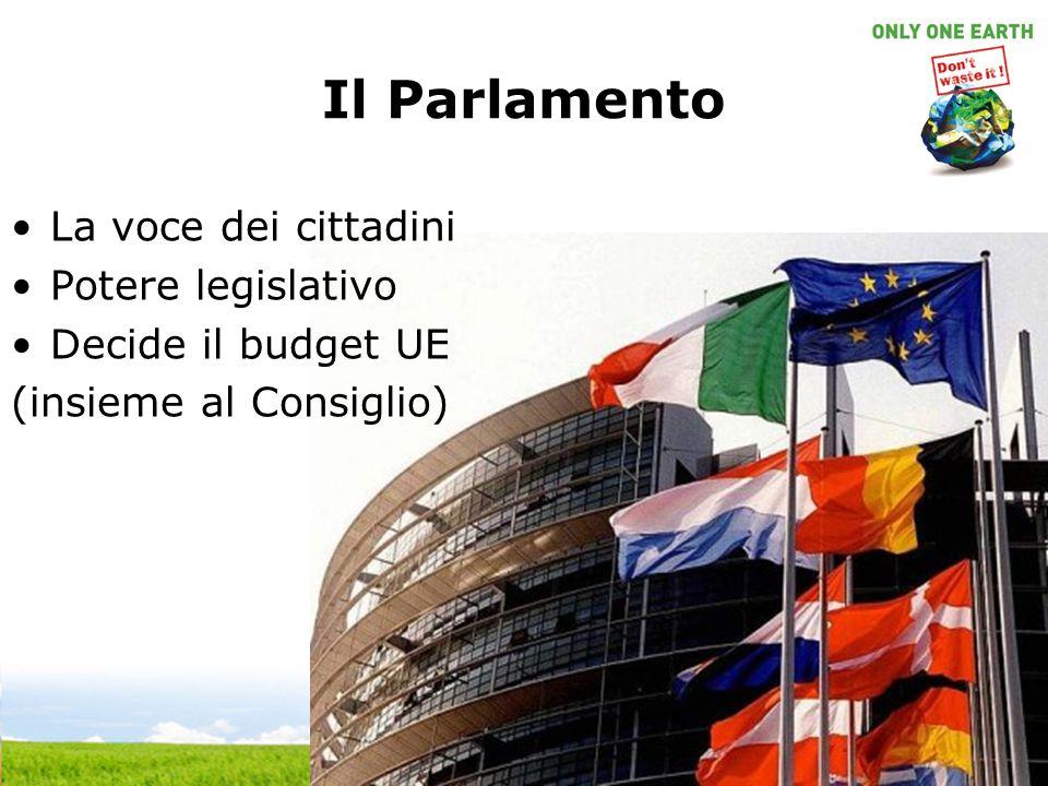 Il Parlamento La voce dei cittadini Potere legislativo