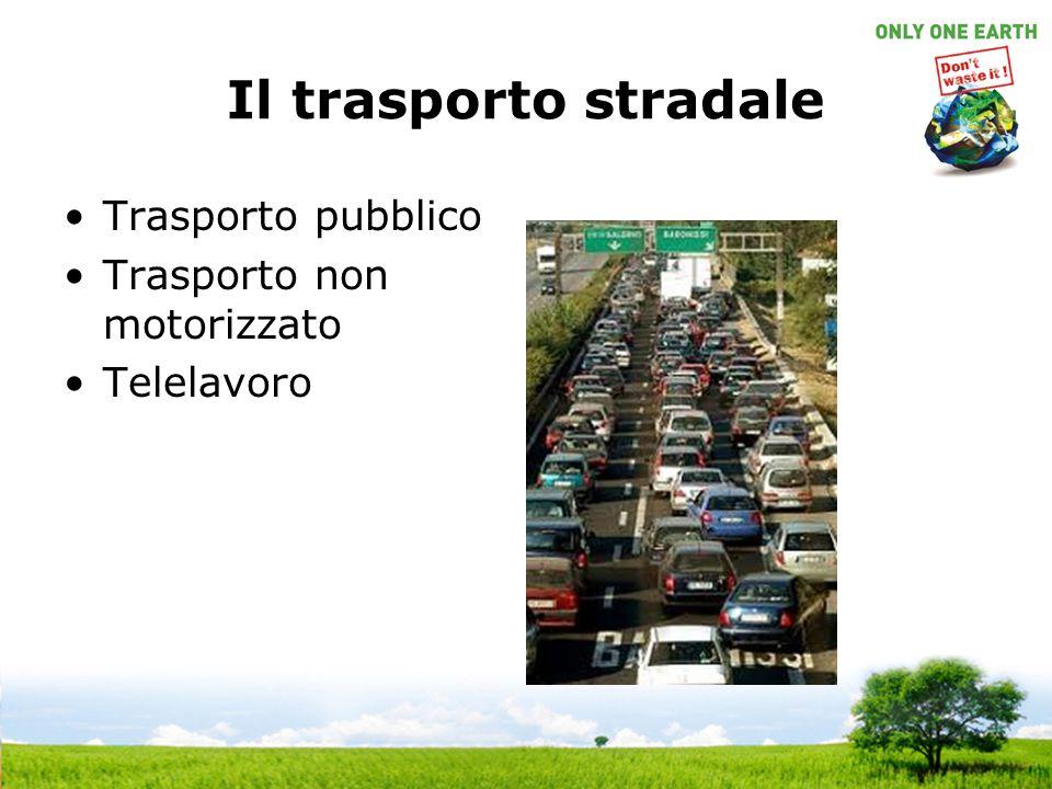 Il trasporto stradale Trasporto pubblico Trasporto non motorizzato