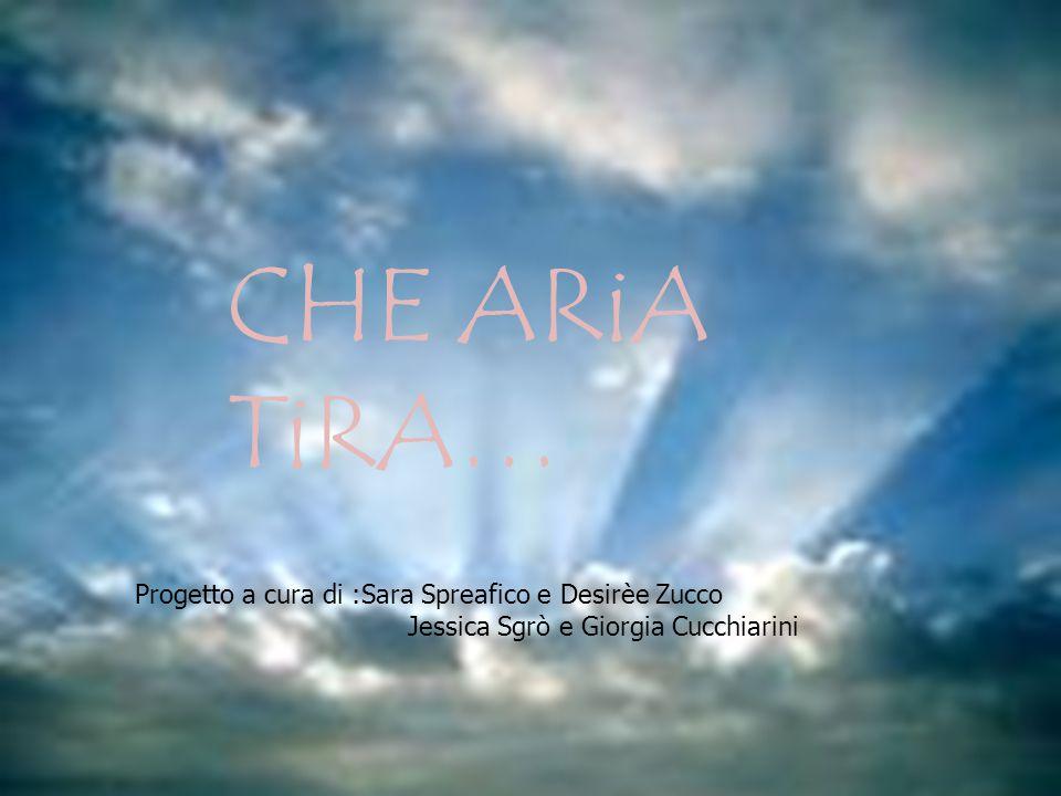 CHE ARiA TiRA… CHE ARiA TiRA…