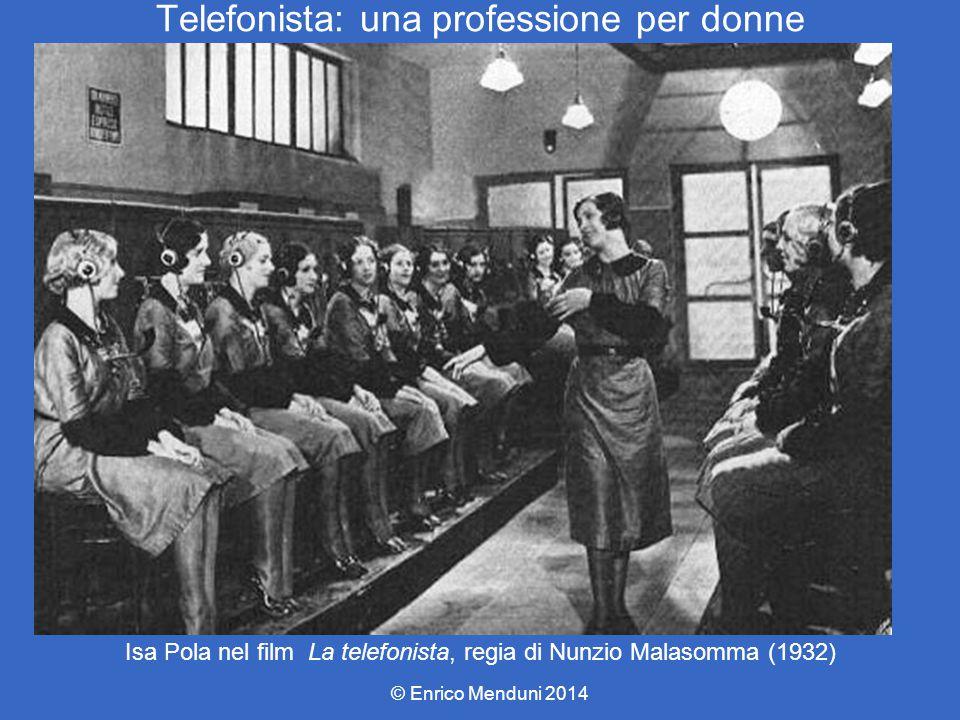 Telefonista: una professione per donne