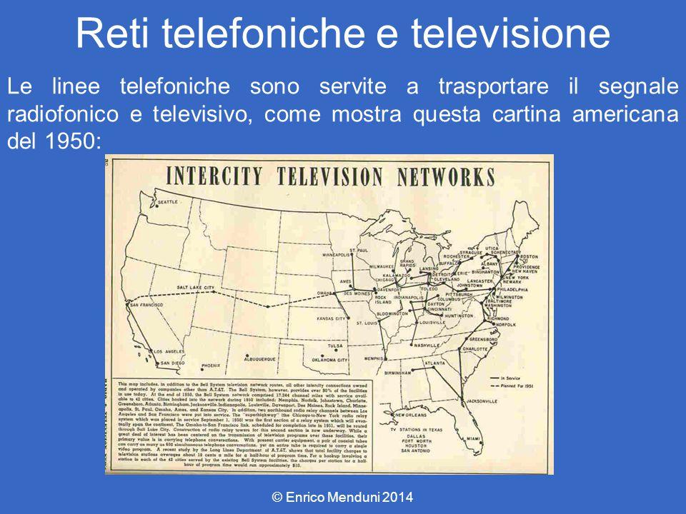 Reti telefoniche e televisione