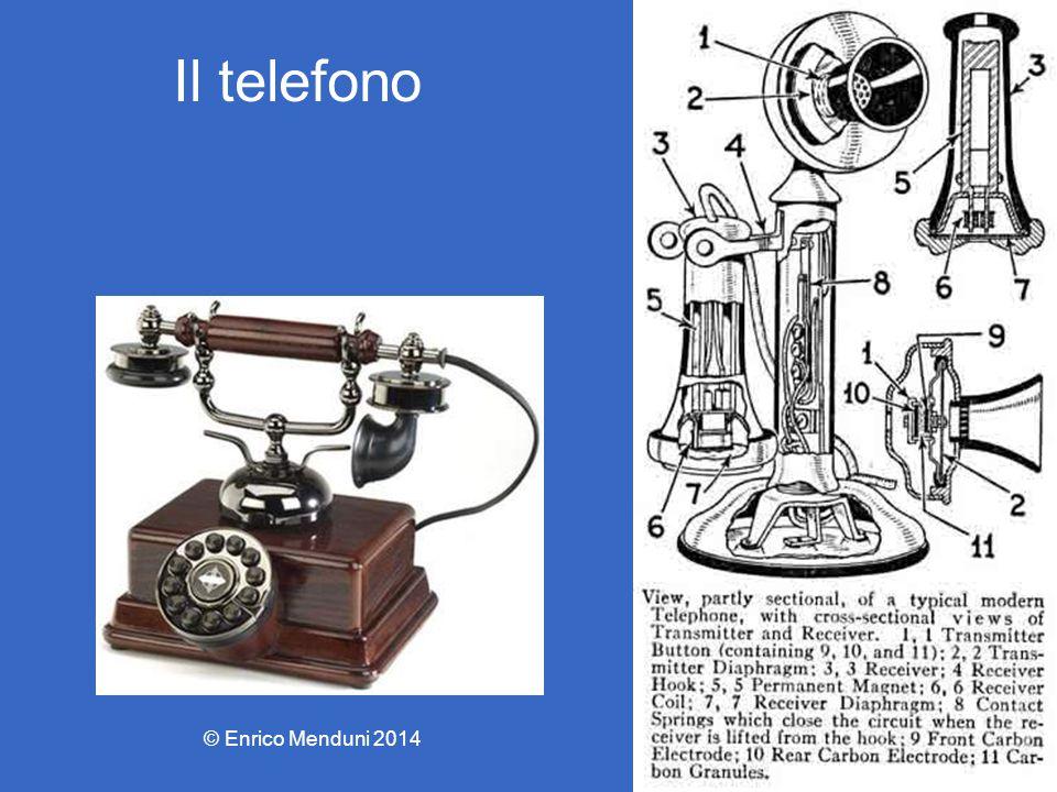 Il telefono © Enrico Menduni 2014