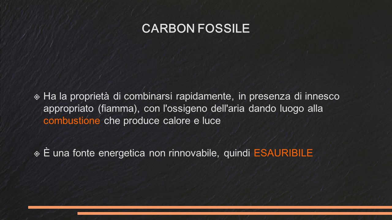 CARBON FOSSILE