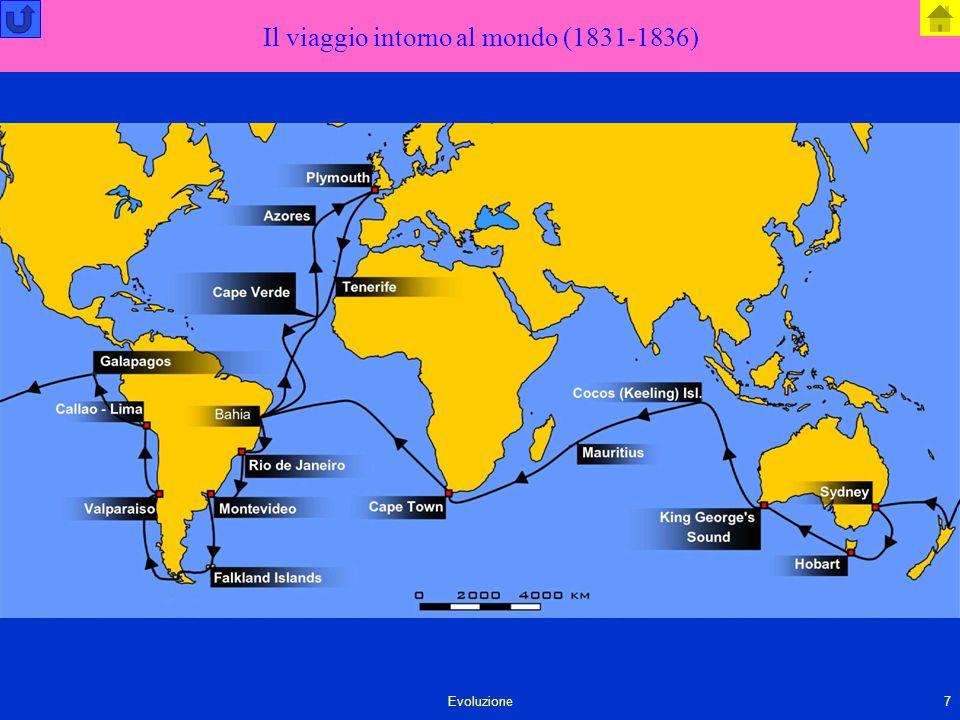 Il viaggio intorno al mondo (1831-1836)