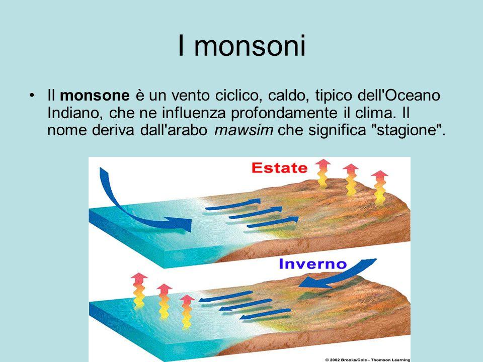 I monsoni