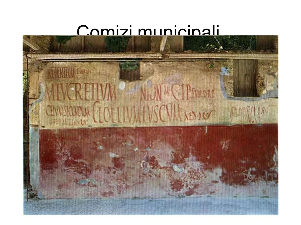 Comizi municipali