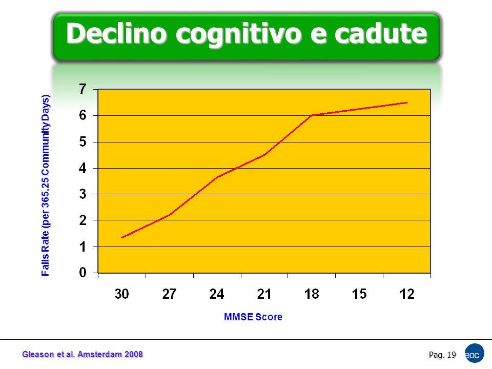 Declino cognitivo e cadute
