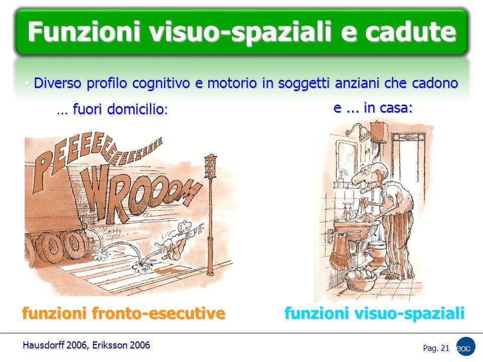 Funzioni visuo-spaziali e cadute