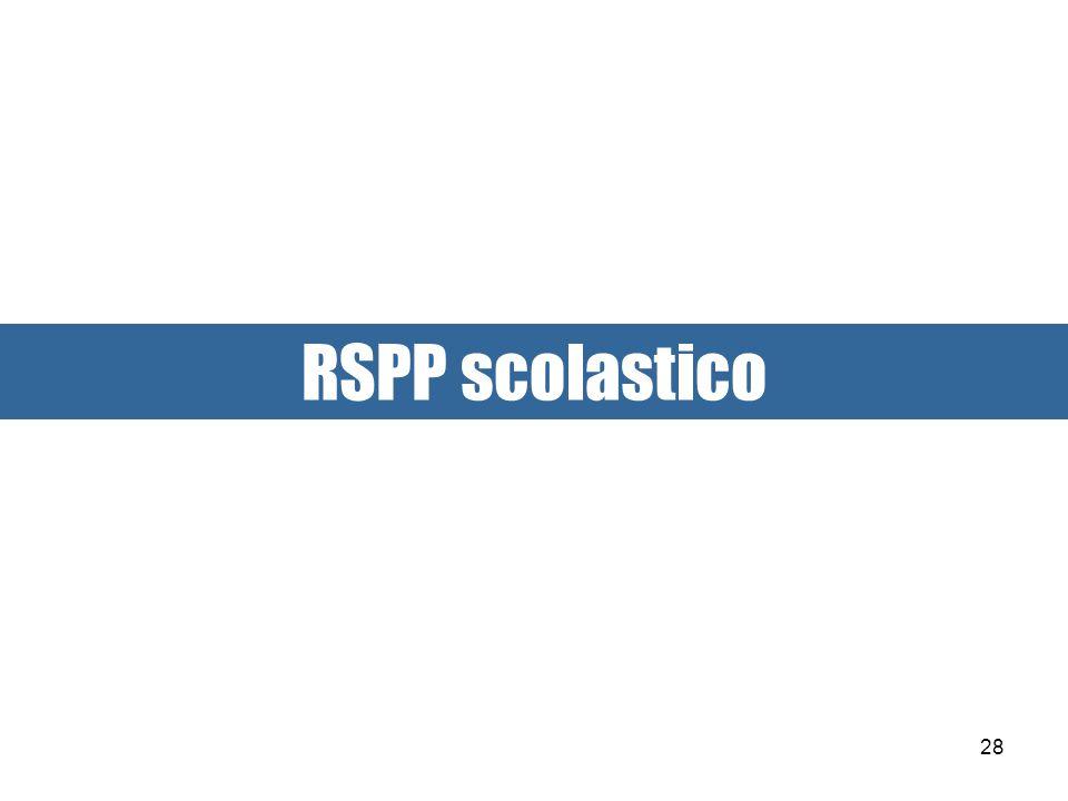 RSPP scolastico