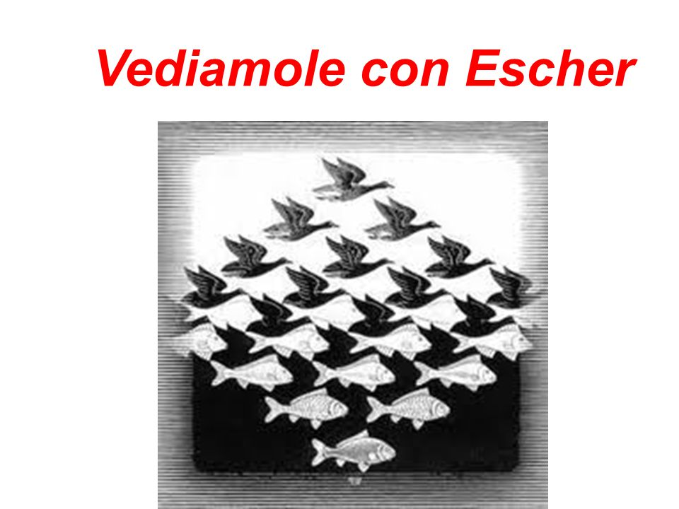 Vediamole con Escher