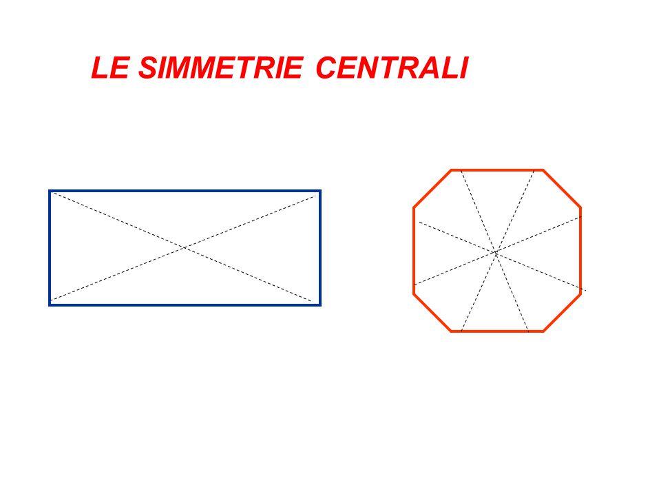 LE SIMMETRIE CENTRALI