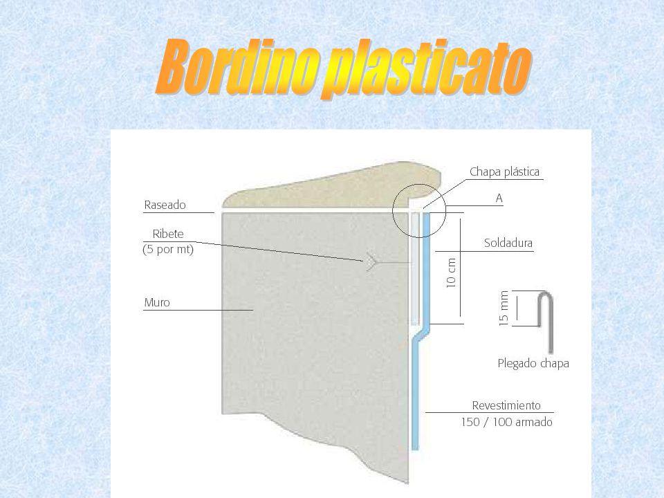 Bordino plasticato