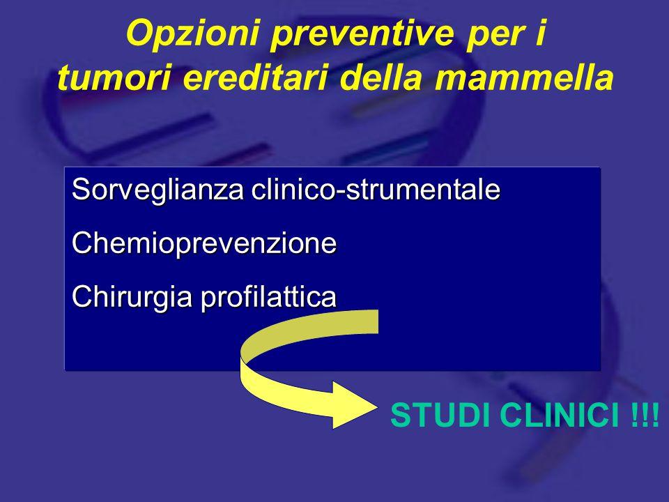 Opzioni preventive per i tumori ereditari della mammella
