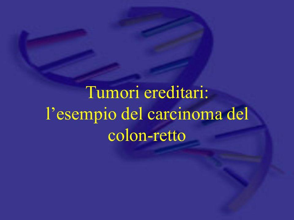 Tumori ereditari: l'esempio del carcinoma del colon-retto